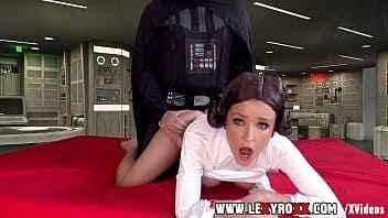 Imagen Star Wars Pornoparodie, Prinzessin Leia isst Darth Vader