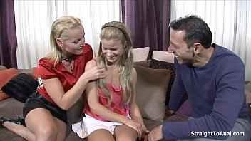 Imagen Die reife Kathia Nobili und ihre Tochter haben einen Dreier